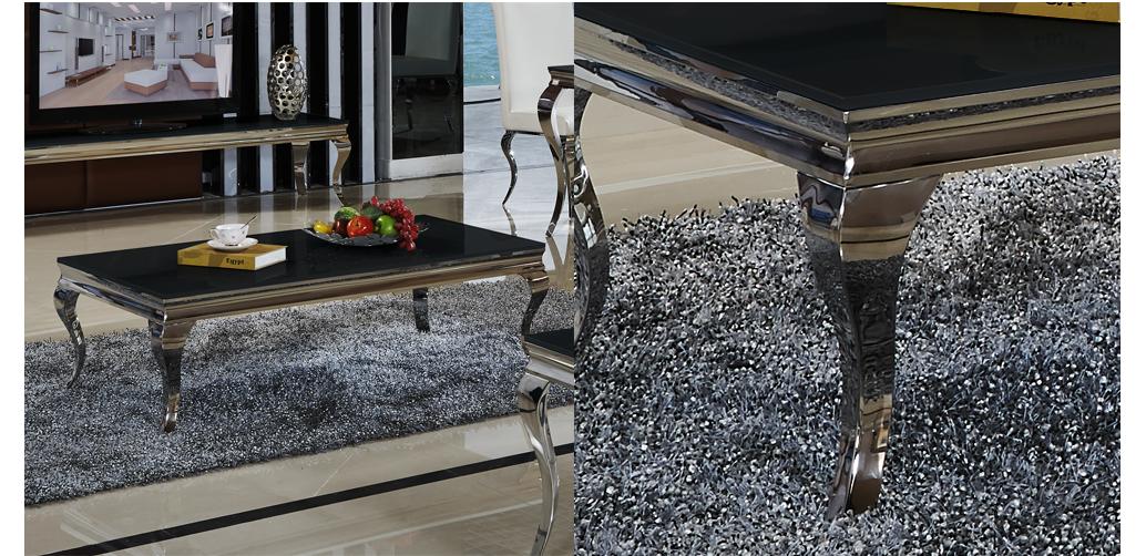 Couchtisch barock stil aura schwarz wohnzimmertisch tisch for Couchtisch barock